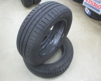 Michelin - Used tires (195/60R15)6.5mm2 book