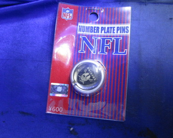 Unknown - NFL Nanbar Plate Pins