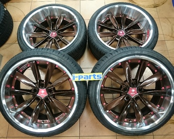 WEDS - 4 CHRISHNA/Import 19-inch Wheels