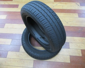 Bridgestone - 2 used tires ECOPIa (175/65R15)
